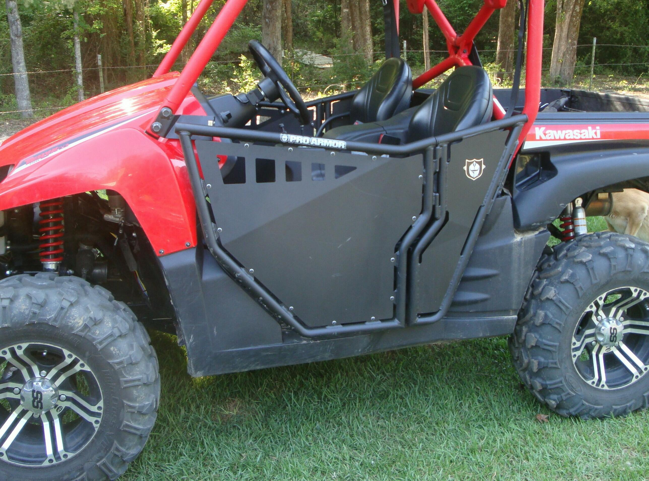 Click image for larger version Name DSC05318.jpg Views 2683 Size 623.4 & Who has the best full size opening doors? - Page 2 - Kawasaki Teryx ...