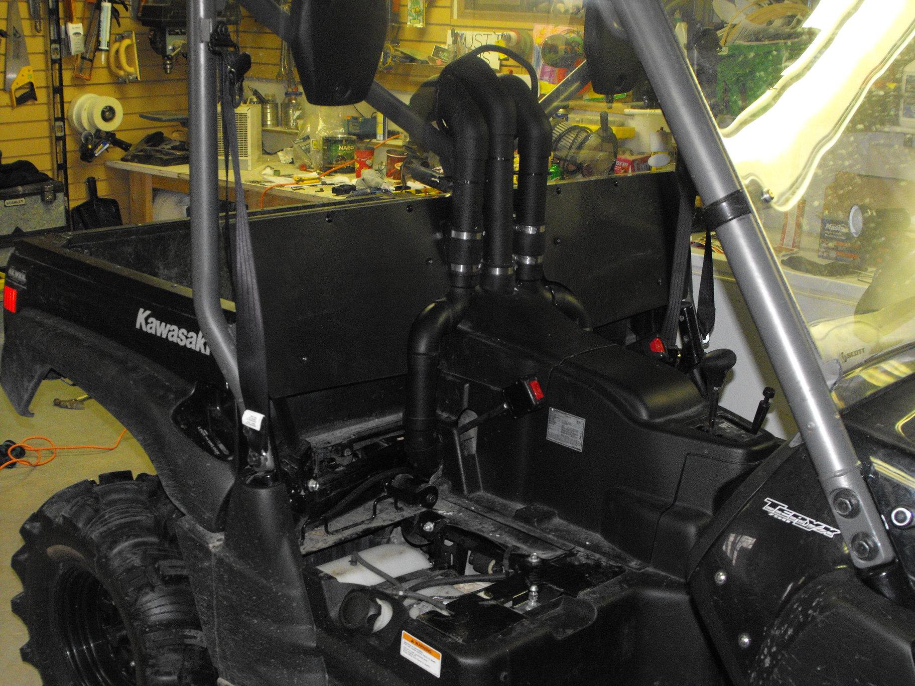 Mud Industries Snorkel Install Kawasaki Teryx Forums