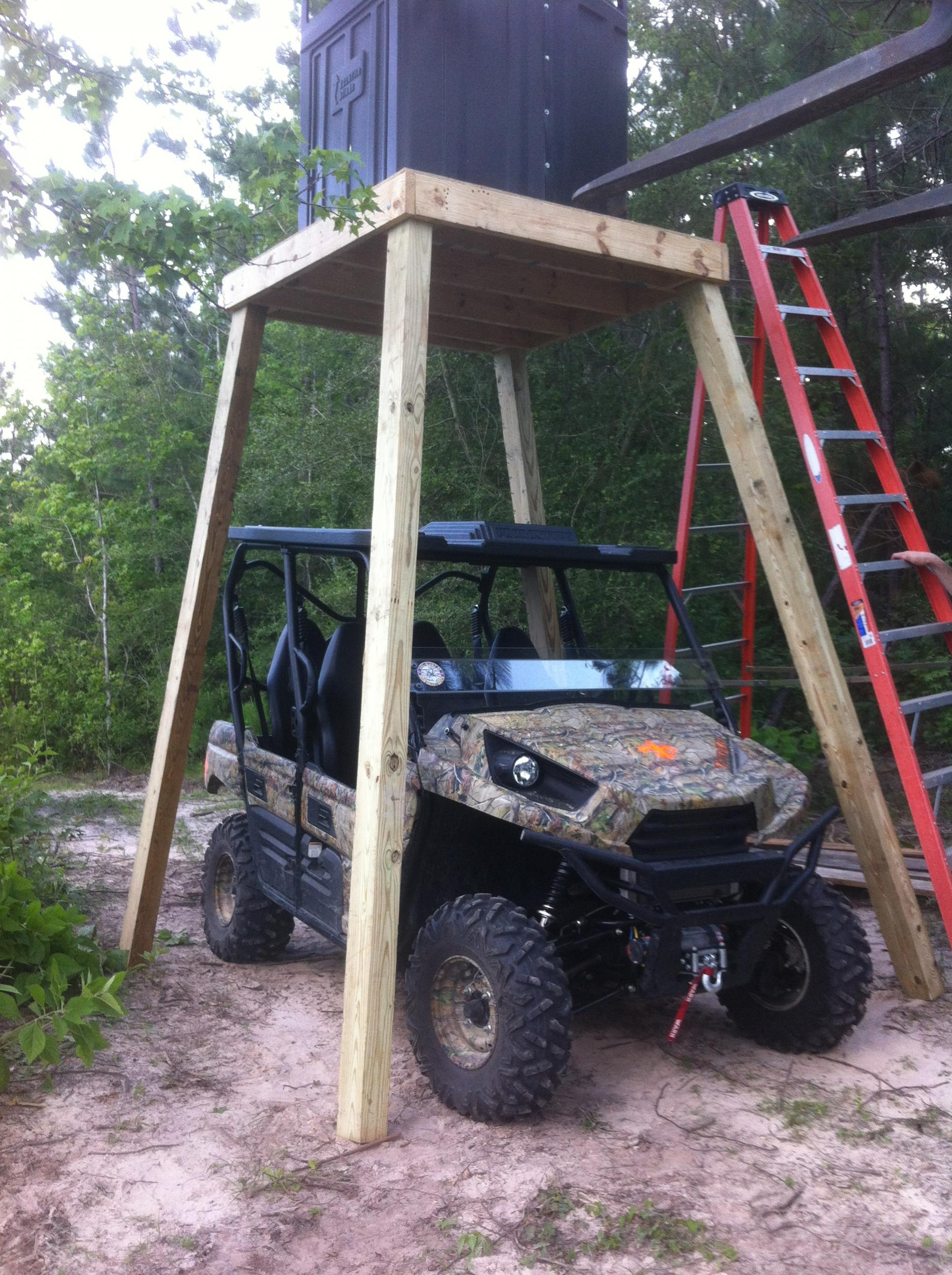 """2012 teryx 4 """"thinking out of the box"""" aftermarket parts"""