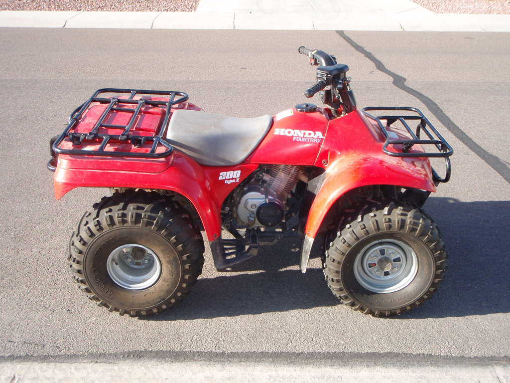 rare old honda trx 200 fourtrax th rare old honda trx 200 fourtrax