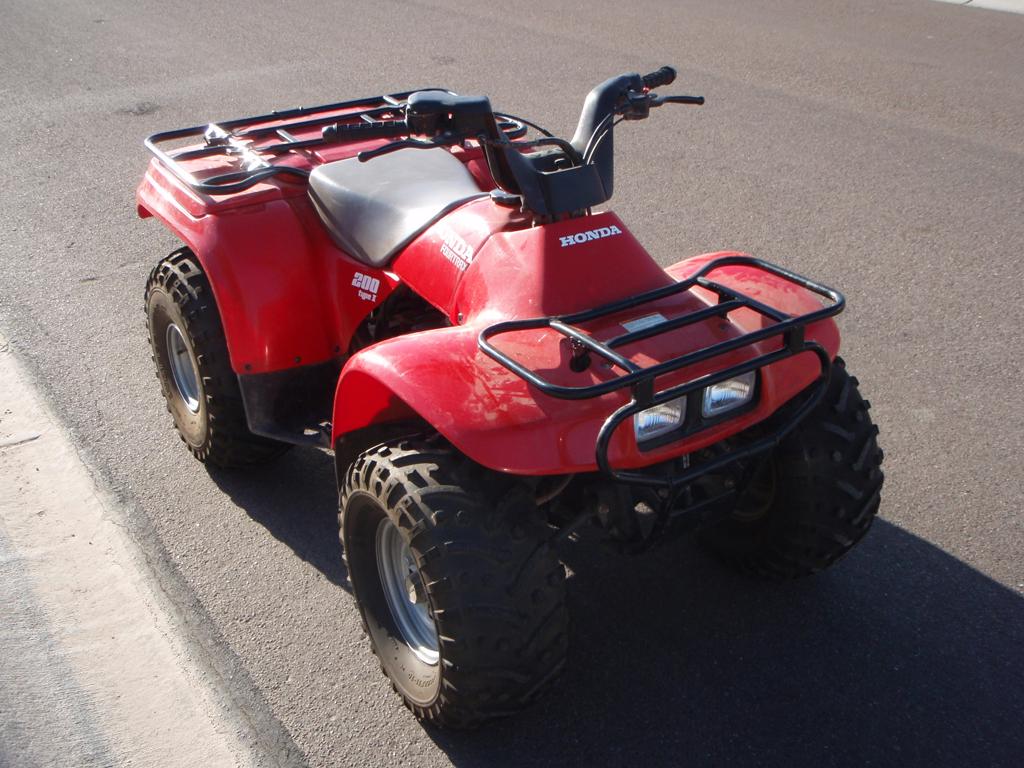 1994 Honda Trx200d Fourtrax