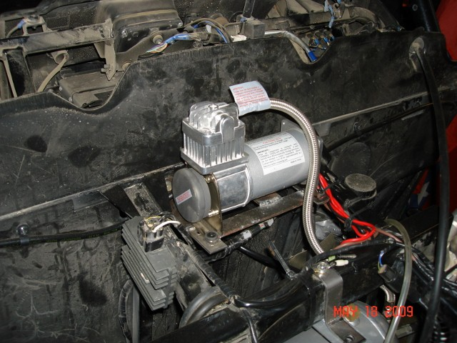 Pics Of My Compressor Install Kawasaki Teryx Forums